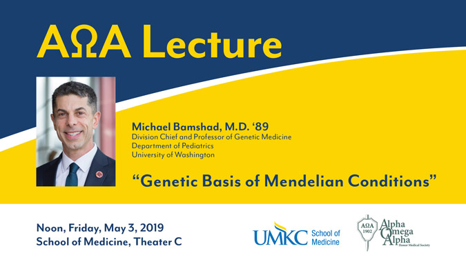 AOA Lecture @ UMKC School of Medicine - Theater C | Kansas City | Missouri | United States