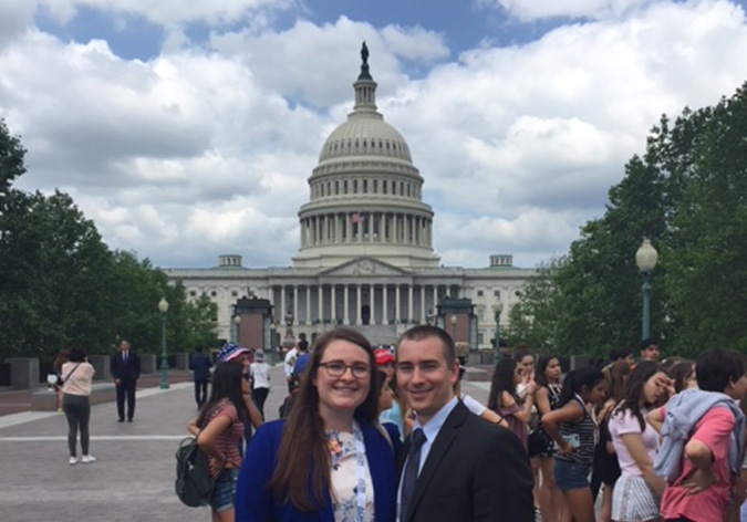 Jennifer Buckley, MD and Jordan Smith DO Washington D.C.
