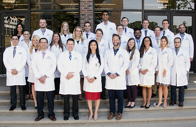Surgical residents 2018