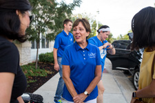 Interim Dean Jackson at UMKC SOM Year One Move In Day