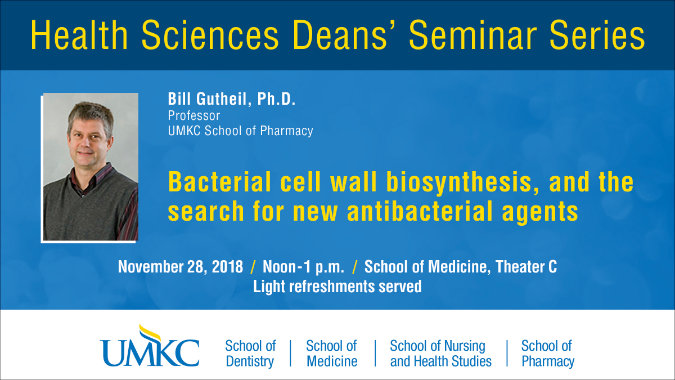 Health Sciences Deans' Seminar Series @ UMKC School of Medicine, Theater C | Kansas City | Missouri | United States