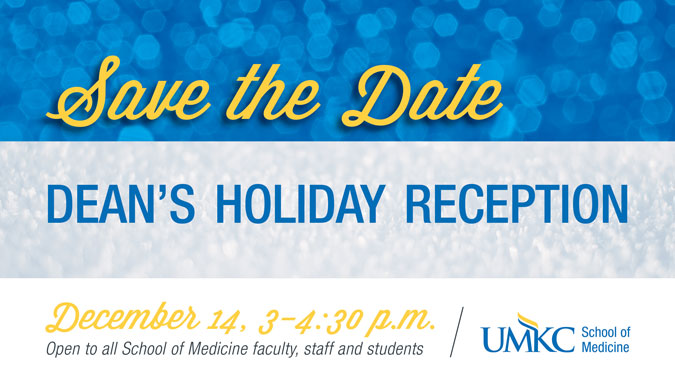 Dean's Holiday Reception