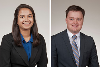 Two students selected for Children's Mercy neurology research award