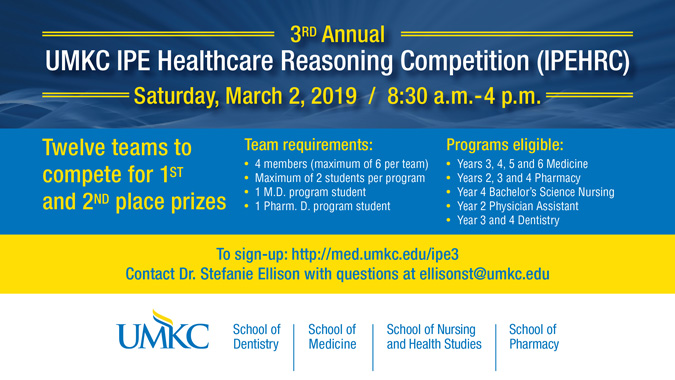 IPE Healthcare Reasoning Competition