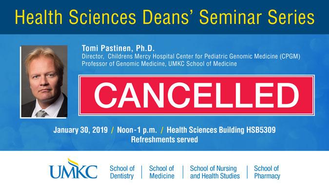 Deans Seminar Series - Pastinen