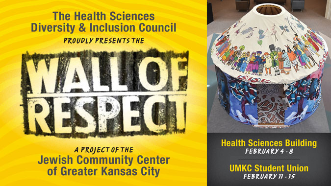 The Wall of Respect @ UMKC Health Sciences Building