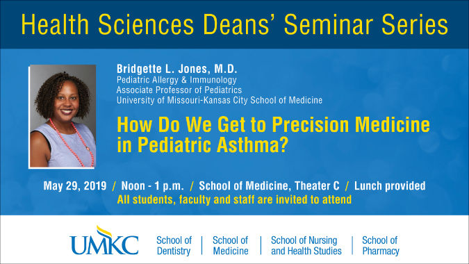 Health Sciences Deans' Seminar Series @ UMKC School of Medicine - Theater C