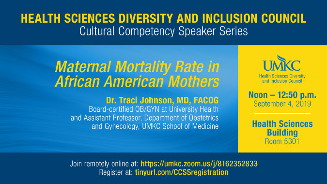 SOM Maternal Mortality Rate Diversity Council Speaker Series