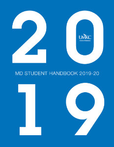 2019 MD Student Handbook