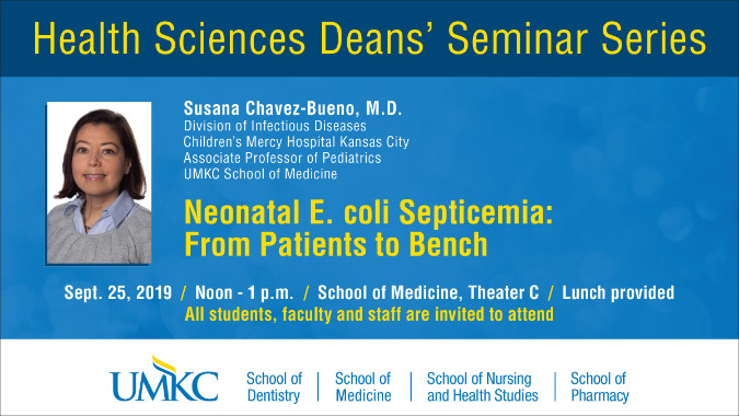 Health Sciences Deans' Seminar Series Chavez Bu