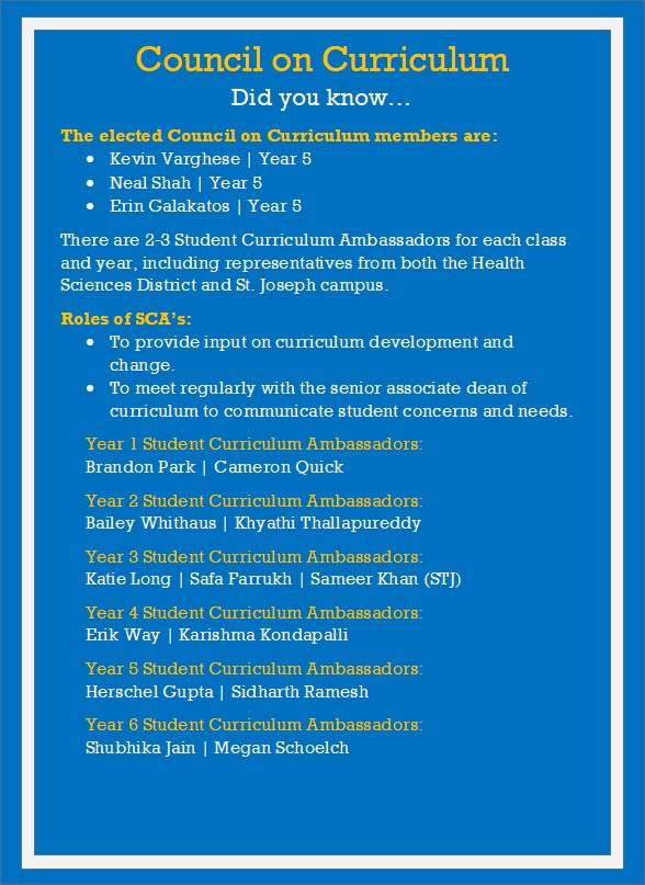 Curriculum Ambassadors 2021